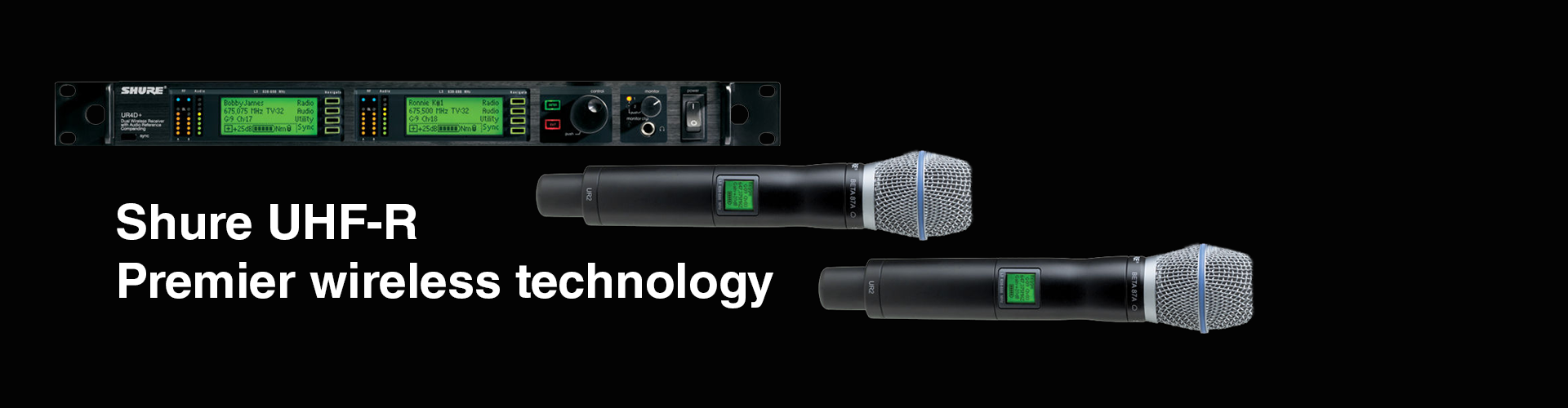 Shure UHF-R, Premier Wireless Technology
