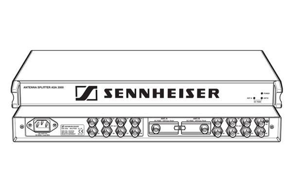 Sennheiser ASA 3000 antennesplitter